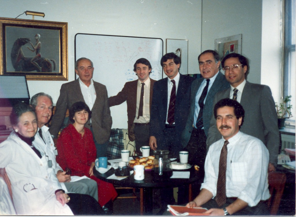 1987 Respiratory Division at McGill University