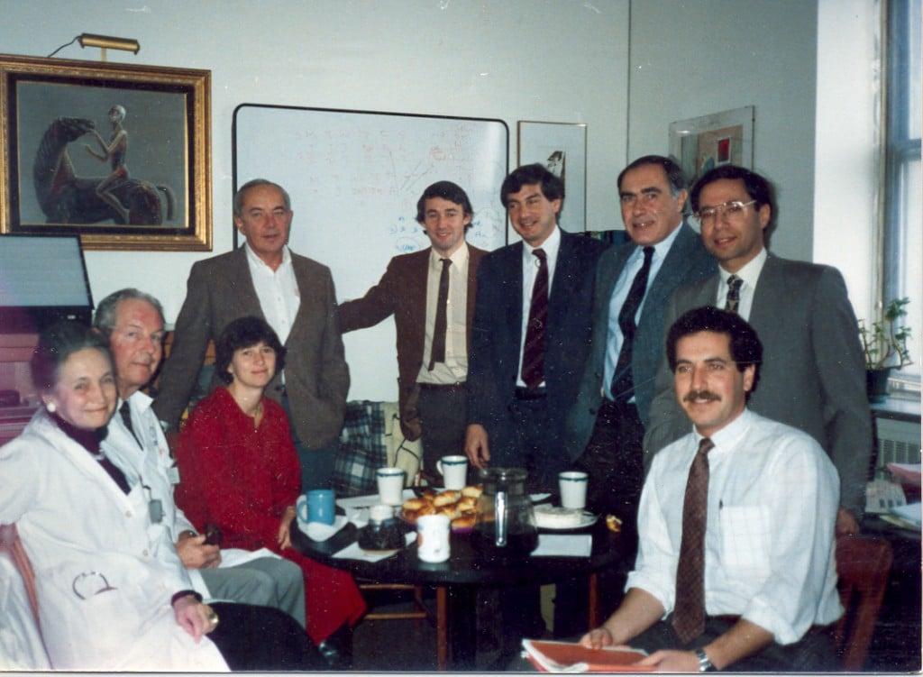 1987 Respiratory Division at McGill University