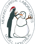 meakins logo with snowman