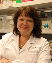 photo of christine mccusker: research on allergic airways diseases