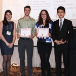 Congratulations to Jeffrey Downey (Sup: Maziar Divangahi) and Necola Guerrina (Sup: Carolyn Baglole) who tied for first place for best oral presentation at the 16th Annual McGill Biomedical Graduate Conference (AMBGC).