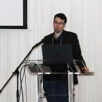 Photo of Benoit Allard at the RSR-FRQS meeting
