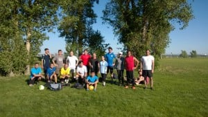 RI-MUHC and Meakins annual summer soccer games