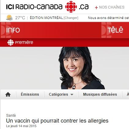 Christine McCusker: Un vaccin qui pourrait contrer les allergies