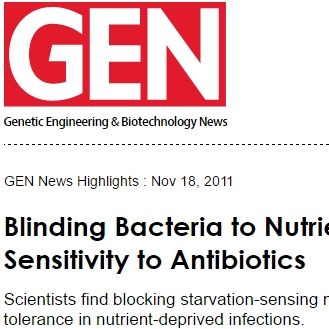Dao Nguyen: Blinding Bacteria to Nutrient Deficiency Boosts Sensitivity to Antibiotics