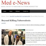 McGill Med e-News: Beyond Kiling Tuberculosis. Science Immunology paper by Divangahi lab.
