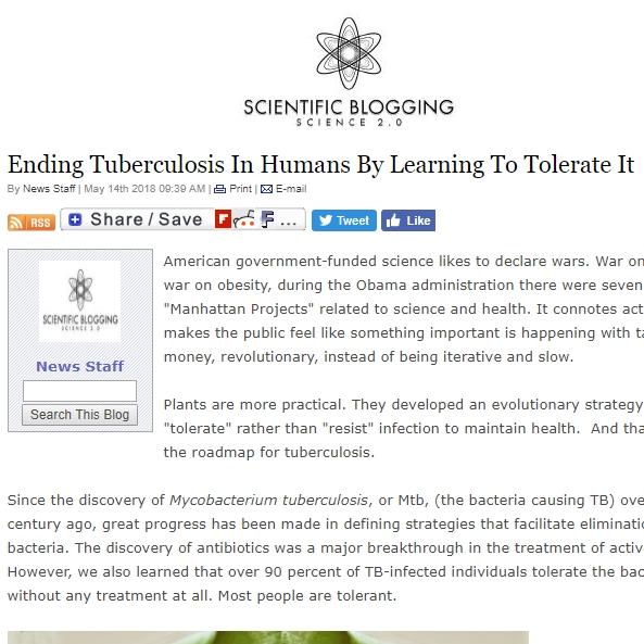 Tuberculosis research Maziar Divangahi