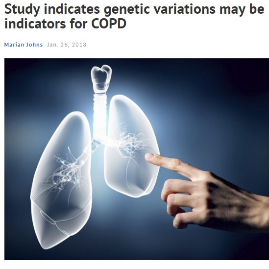 Study indicates genetic variations may be indicators for COPD