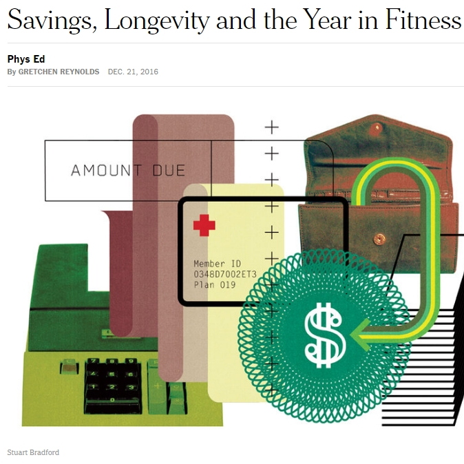 Savings, Longevity and the Year in Fitness: athlete Ed Whitlock and research by Dr. Russell Hepple