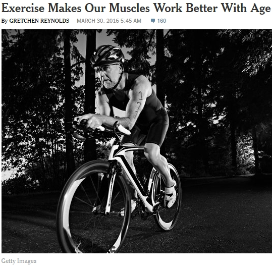 Exercise makes our muscles work better with age: research by Dr. Russell Hepple