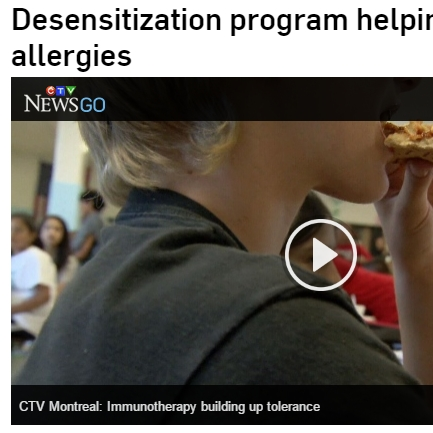 Bruce Mazer milk allergy desensitization: Desensitization program helping end kids' life-threatening milk allergies