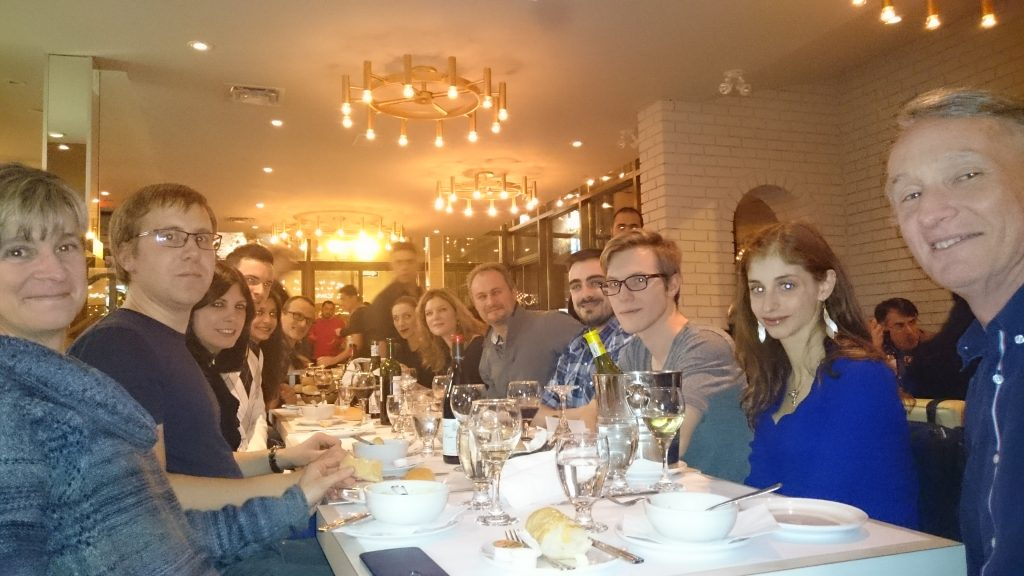 Dec 9, 2016 Meakins X-Mas Dinner