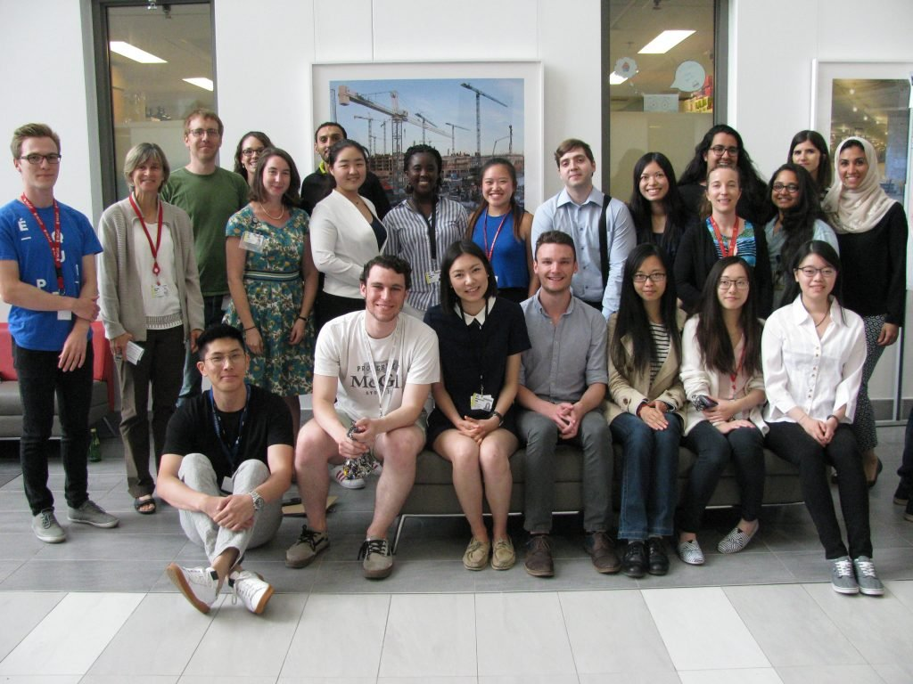 RESP Program members and summer students at the annual RI-MUHC summer student research day