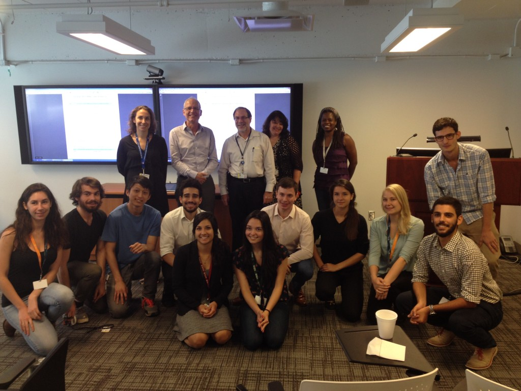 August 25, 2016: Summer Student Research Day
