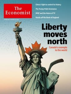 The Economist: Canada's example to the world - Liberty moves north