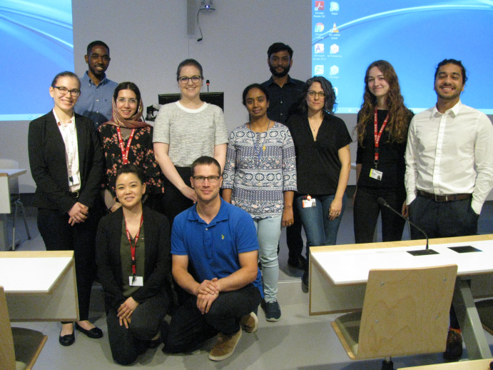 2019 respiratory Research day oral presenter group photo