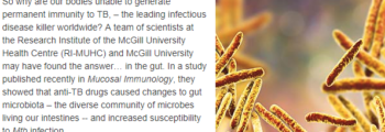 Anti-TB Drugs Cause Changes to Gut Microbiota, Compromising Immunity
