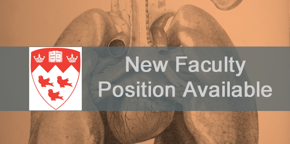New Faculty Position Available