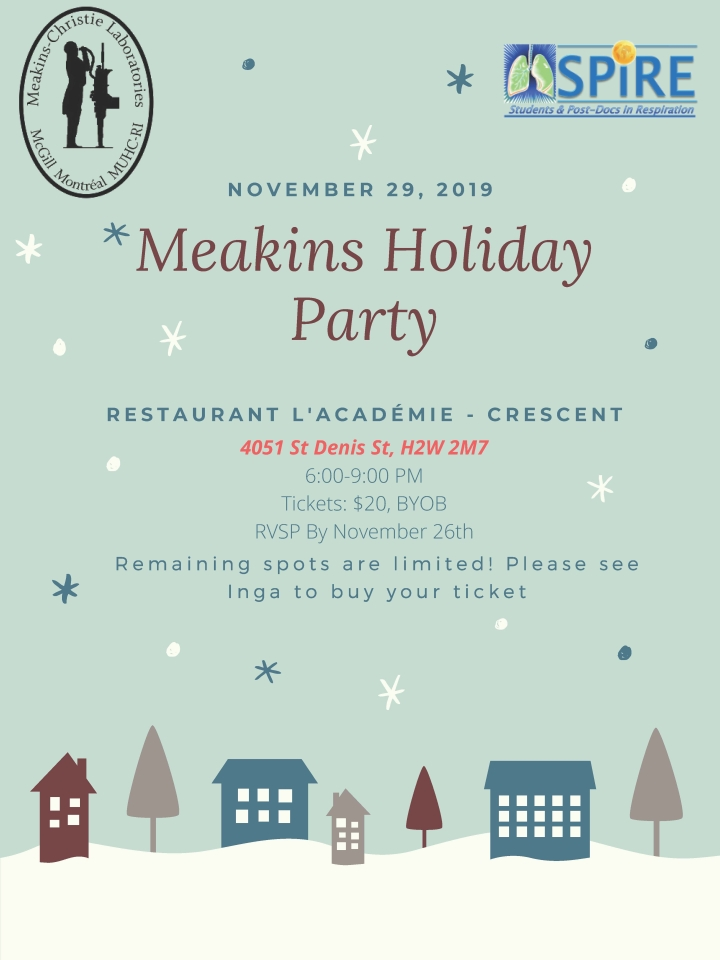 Meakins Holidy Party 2019