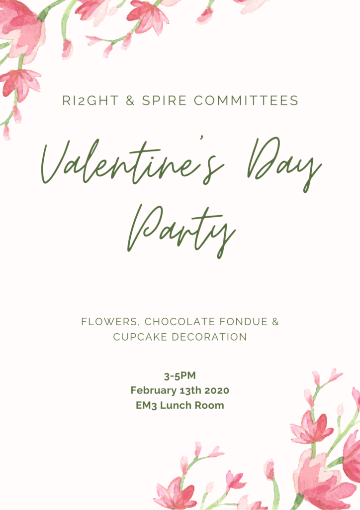 Valentine's Day Party for RESP and IDIGH program members
