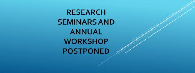 Meakins christie seminars and workshops are postponed until further notice