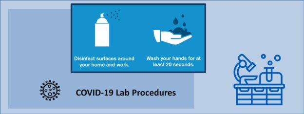 Special COVID-19 lab safety procedures for the Meakins-Christie labortories
