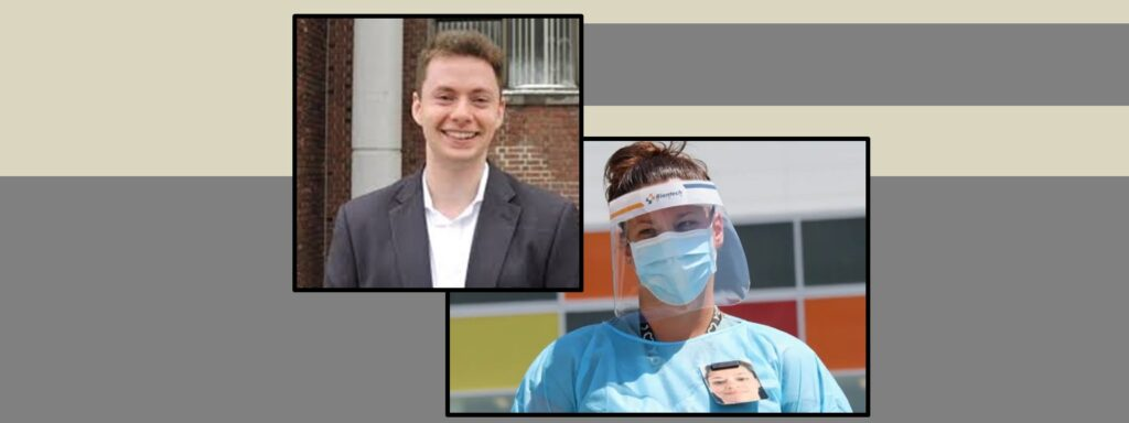 Royal Vic ICU: the faces behind the PPE