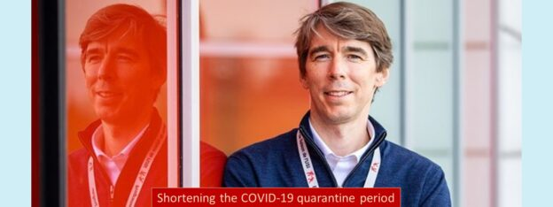 Preliminary findings of Dr. Benjamin Smith's study suggest a shorter COVID-19 quarantine period may be possible for the future.