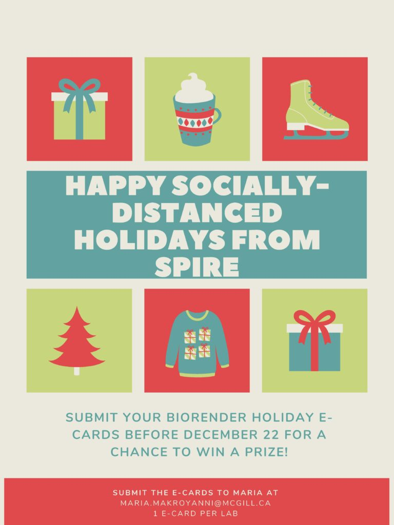 2020 Holiday E-Card Contest and Food Drive!!!!