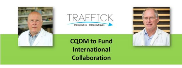 Dr. John Hanrahan is the Chief Scientific Officer of Traffick Therapeutics, which is taking part in an international project funded by CQDM, to research rare lung disease.
